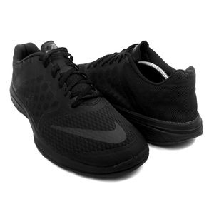 NIKE Black FS LITE RUN 3 Men Size 10.5 Used